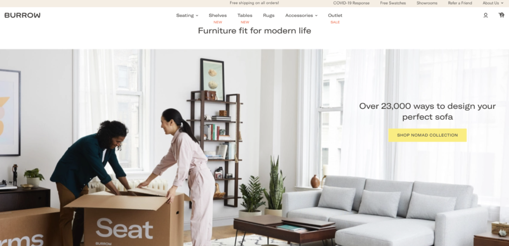 Headless Commerce Site