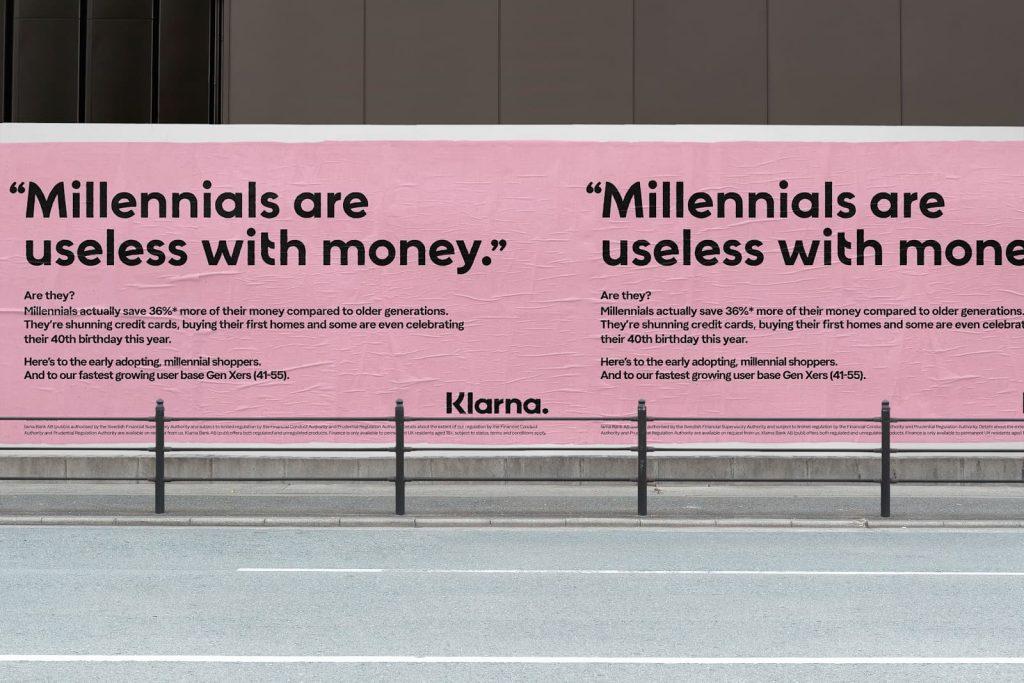 Klarna Outdoor Advertisement