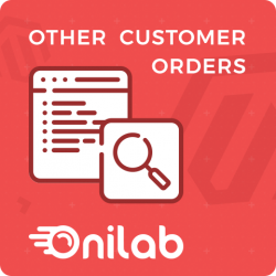 Magento 2 Onilab Other Customer Orders Extension