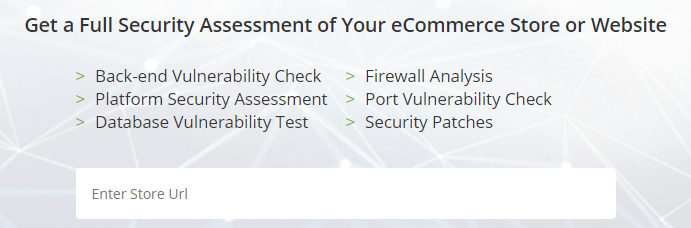 eCommerce Security Test